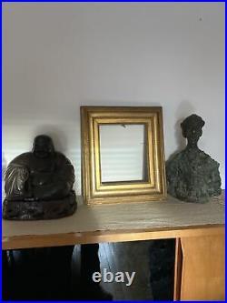 1600 Euros E. L INFROIT Ancien Cadre Bois Sculpté Doré Louis XVI D Époque