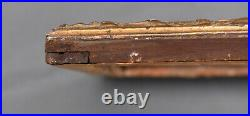 ANCIEN CADRE LOUIS XIV en bois sculpté doré XVIII ème frame régence