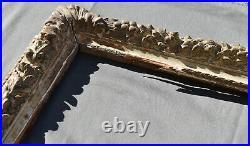 ANCIEN CADRE LOUIS XV en bois sculpté et patiné XVIII ème frame régence
