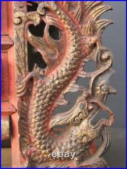 Ancien Autel en Bois sculpté, CHINE
