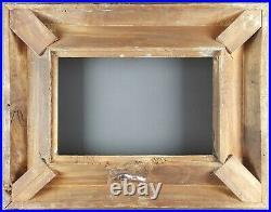 Ancien Cadre Barbizon Format 31 / 32 cm x 20 / 21 cm Antique Frame Old Cornice