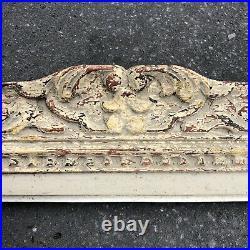 Ancien Cadre Montparnasse Bois Sculpté Format 12P début XXème Tableau Peinture