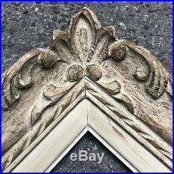 Ancien Cadre Montparnasse Bois Sculpté Format 2F début XXème Tableau Peinture