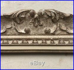 Ancien Cadre Montparnasse Bois Sculpté Format 6F début XXème Tableau Peinture