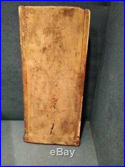 Ancien Coffret Bois Sculpté Boîte à Sel XVIIIe