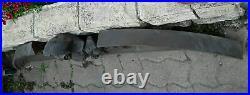 Ancien Fronton En Bois Sculpte 147cm Pediment Ornement Deco Loft Atelier Maison