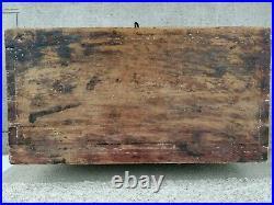 Ancien cabinet indo portugais /Portuguese Bois sculpté carved wood antique