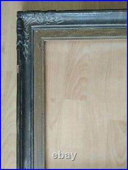 Ancien cadre montparnasse dor feuillure 42 cm x 36 frame peinture tableau