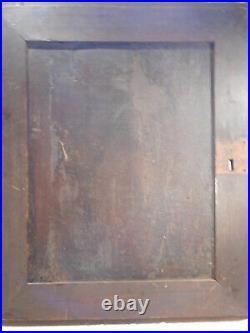 Ancien panneau bois sculpté Apôtre Paul Haute époque XVIIème