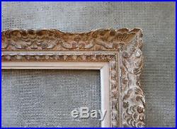 Ancien superbe cadre Montparnasse Bouche dimension de feuillure 27,5 x 19,8 cm