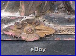 Ancienne Boite de Mariage en Bois sculpté, BALI INDONÉSIE