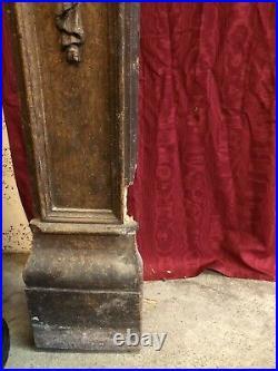 Ancienne Cheminée En Bois Sculpté Napoléon III Boiserie Chteau Xixeme