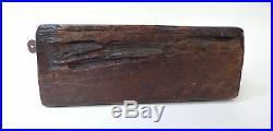 Ancienne rape à coco en bois sculpté ZOOMORPHE Thailande fin 19ème 1