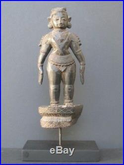 Ancienne statuette en Bois sculpté INDE