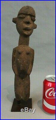 Ancienne statuette statue bois sculpté LOBI BATEBA art africain antique african