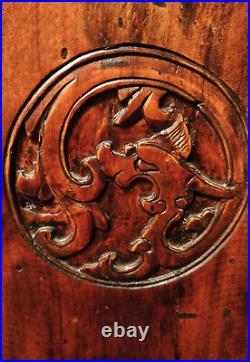 Banquette Chinoise Ancienne Sculptée Mobilier Chinois Bois Sculpté Chinois