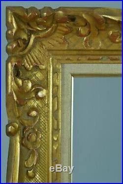 Beau Cadre Ancien en bois doré Montparnasse frame Cornice 8f standard Tableau