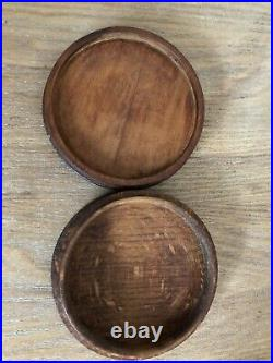 Boite En Bois Coloniales César Bagard Antiquité Rare bijoux bois sculpté ancien