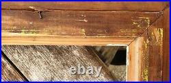 CADRE ANCIEN MONTPARNASSE BOIS SCULPTE 78 CM PAR 63,5 SOUS FEUILLURE 45,6 par 62