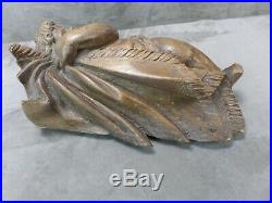 CHERUBIN en bois sculpté, ancien