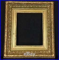 Cadre Ancien à clefs doré- Barbizon-frame-27 x 22 cm - F3- ref 2