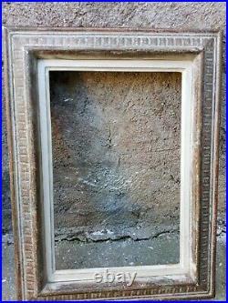 Cadre Montparnasse ancien bois Sculpté format Paysage 6 41 X 27 cm