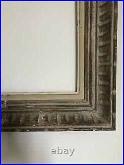 Cadre Montparnasse ancien bois sculpté a Canaux format 10f 55x46 cm