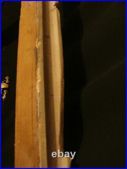 Cadre Montparnasse style Louis XV ancien en bois sculpté format 65 x 46 cm M15