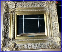 Cadre Montparnasse style ancien 30cm x 25cm Bois Stuc sculpté et doré
