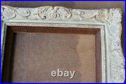 Cadre Montparnasse style ancien 34cm x 28cm Bois Stuc sculpté et doré