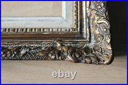 Cadre Montparnasse style ancien 44cm x 36cm Bois Stuc sculpté et doré