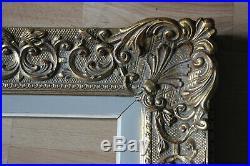 Cadre Montparnasse style ancien 65cm x 55cm Bois Stuc sculpté et doré