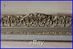 Cadre Montparnasse style ancien 70cm x 59cm Bois Stuc sculpté et doré
