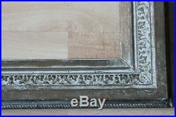 Cadre ancien 44x 36cm bois et stuc sculpté