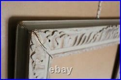 Cadre ancien E. Bouche bois sculpté