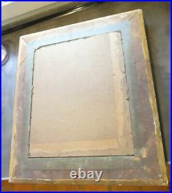 Cadre ancien empire à palmettes montage à clé + gravure NAPOLEON BONAPARTE