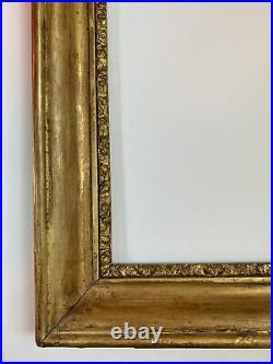 Cadre ancien en bois Doré de style Louis Philippe 6F 41 cm x 33 cm