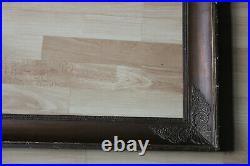 Cadre empire ancien 64cm x 53cm XIXème Bois Stuc sculpté et doré n°I
