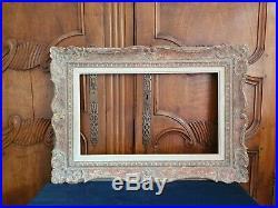 Cadre montparnasse 10M 55 x 33 en bois sculpté ancien pour tableau peinture