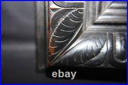 Encadrement ancien. Cadre en bois sculpté pour tableau Rare