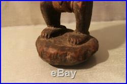 Fétiche africain ancien en bois sculpté Dogon Mali Afrique