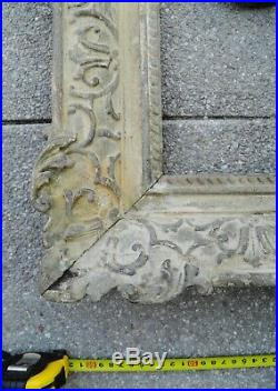 Grand CADRE ANCIEN bois sculpté montparnasse 71 X 60 cm