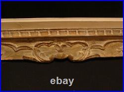 Grand cadre Montparnasse F. 20 en bois sculpté style Louis 15 ancien