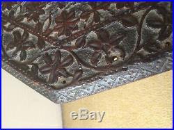 Haute Epoque ancien panneau bois sculpte