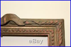 Paire d'Anciens et jolis Cadres en bois sculpté de style Louis XVI