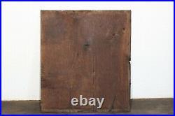 Panneau bois ancien XVII XVIII éme siécle bois sculpté boiserie coffre