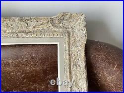 Superbe Cadre Montparnasse ancien bois Sculpté Fermé Clés format 15f 65 x 54 cm