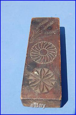 Superbe Coffin Ancien En Bois Sculpte Art Populaire Outil Ancien Faucheur -//cs