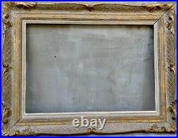 Superbe ancien cadre Montparnasse grand format 73cm x 55,5cm extérieur