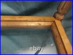 Table guéridon style Louis XVI bois sculpté et doré ancienne
